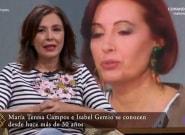 Isabel Gemio aparece en el especial de María Teresa Campos de 'Lazos de sangre' y revoluciona