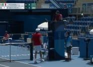 Medveded para su partido y le hace un preocupante aviso al árbitro: para pensarlo dos