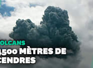 En Indonésie, le volcan Sinabung est entré en