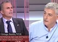 Un diputado de Bildu recupera el corte que dio en TVE a Ortega Smith por llamarle