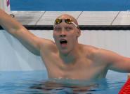 La gran historia de superación del medallista en natación que no está obligado a llevar