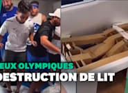 JO de Tokyo: des athlètes israéliens s'excusent après avoir détruit un lit en