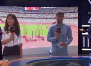 Las imágenes de los reporteros de TVE que muestran las condiciones en el debut del atletismo en los