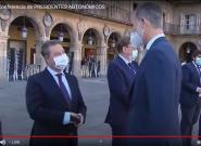 García-Page se atreve a hacerle esta broma al rey que pillan las cámaras: