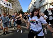 En Ukraine, une rave-party devant la présidence pour les droits des personnes