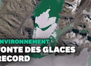 Au Groenland, une étendue de glace grande comme la Floride a fondu en un