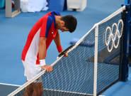 JO de Tokyo: Djokovic, blessé à l'épaule, repart