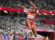 Ana Peleteiro, medalla de bronce en triple salto en los Juegos de