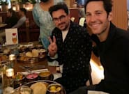 Paul Rudd And Dan Levy Snapped Having Dinner. Pic Goes Viral. Everyone Makes The Same