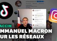 Covid-19: Macron sur Tiktok et Instagram pour répondre aux