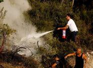Turkey Wildfires: Heartbreaking Photos Show People Left To Battle Blazes