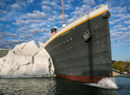 Titanic Museum's Wall Of Ice Comes Crashing Down On