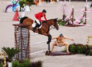 Los caballos que compiten en Tokio, aterrados por lo se ve en la foto: la razón es