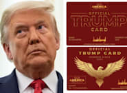 People Think There's Something 'Third Reich' About Trump's New Cards For