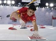 Alberto Ginés, medalla de oro en escalada en los Juegos de