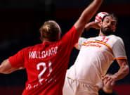 Los 'Hispanos' caen en semifinales ante Dinamarca (23-27) y se jugarán el bronce contra