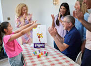 The Great Family Finger Paint-Off: Do Try This At