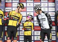 Sur le Tour cycliste de Grande-Bretagne, ce petit garçon a volé la vedette au