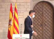 Las cámaras captan lo que ha pasado con esas banderas justo después de que Sánchez se