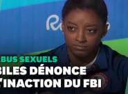 Simone Biles dénonce l'inaction du FBI dans l'affaire
