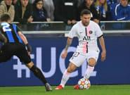 Bruges-PSG en Ligue des champions: les Parisiens tenus en échec