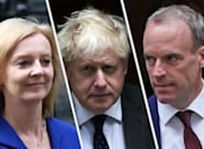Johnson Caught Between Truss And Raab As They Fight Over Lavish