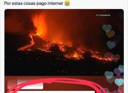 Lee un comentario sobre el volcán, hace captura, la sube a Twitter y lleva ya 25.000 'me