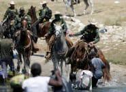 A caballo y con la´tigo: polémica por la forma de detener a migrantes en Estados
