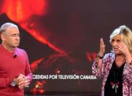 'Sálvame' envía a Lydia Lozano a La Palma y la barbaridad que suelta causa gran