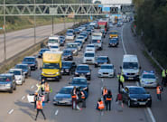 In Pictures: Climate Activists Target M25 For Fifth Time In Just Over A