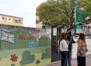 Las hermanas del colegio de Cáceres cuyos padres se negaban a que llevaran mascarilla regresan a