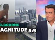 Australie: un séisme de magnitude 5,9 surprend les habitants de