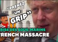 Sous-marins: Boris Johnson appelle la France à se