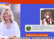 Susanna Griso se pronuncia sobre el montaje que se ha convertido en 'trending