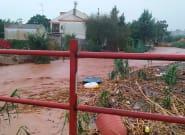 Calles y viviendas inundadas y otras impresionantes imágenes que dejan las lluvias de Huelva, Baleares y