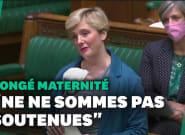 Au Parlement britannique, cette députée amène son bébé pour évoquer son congé
