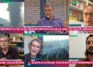 Un periodista de TV3 explica por qué no llevan mujeres a hablar del volcán: da para