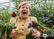 Utterly Joyous Photos Of Angela Merkel You Didn't Know You