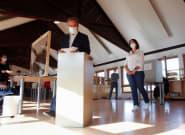 Armin Laschet, dauphin d'Angela Merkel, commet une bourde en votant aux