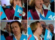 Tragedia en seis fotos: así ha vivido la ultraderecha alemana su resultado en las