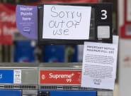 La pénurie d'essence en Grande-Bretagne n'a pas fait perdre leur sens de l'humour aux