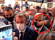 Lanzan un huevo a Macron durante un salón de gastronomía en