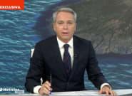 """Vicente Vallés, impactado en Antena 3: """"Estamos viendo esa imagen que nos hiela la"""