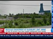 Al menos 39 mineros han quedado atrapados en un pozo de