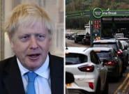Boris Johnson Slammed For 'Hiding' During UK Fuel