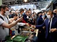 L'auteur d'un jet d'œuf sur Macron hospitalisé en