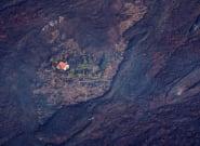 La 'casa milagro' de La Palma acaba devorada por la