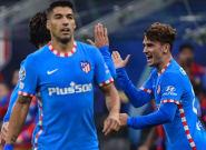 Griezmann y Suárez dan la victoria al Atlético (1-2) en los últimos minutos frente al