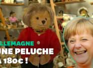 Angela Merkel version peluche s'arrache en