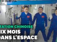 Shenzhou-13, le vaisseau chinois, s'est arrimé à la station